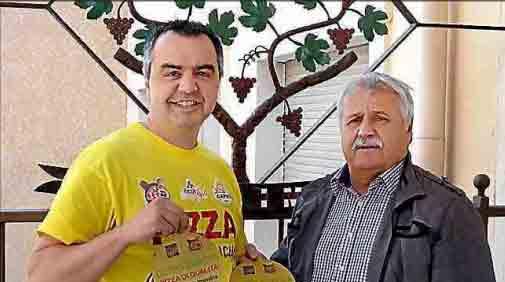 Coupe d'Europe de pizza : Christophe Toix en or